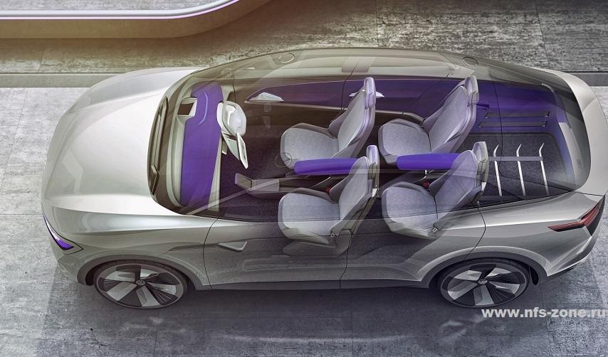 На выставке Auto Shanghai компания VW представила ID.6